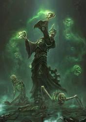Battle Buddies - Necromancer by TheFirstAngel