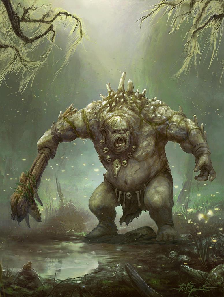 Battlebuddies - Kung - Swamptroll Boss by TheFirstAngel
