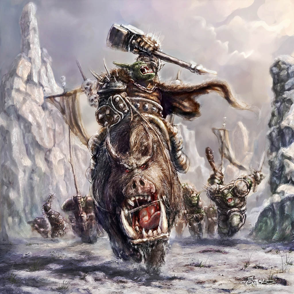 the horde on the move