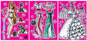 Giselle paper doll