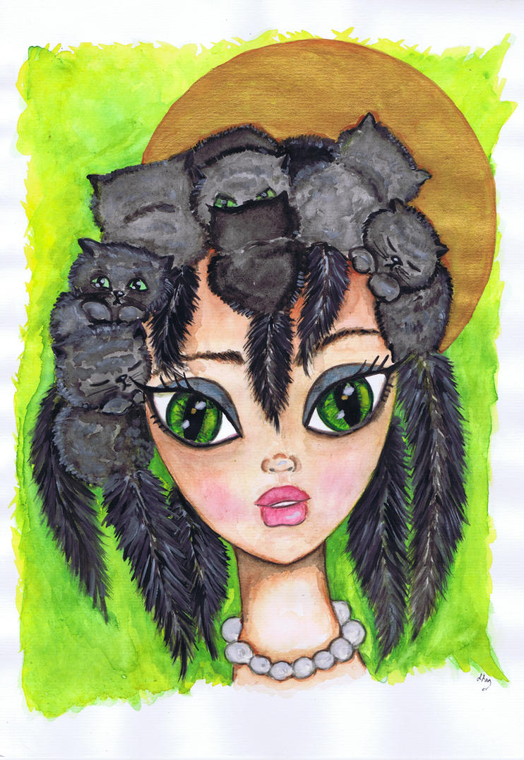 Cat Lady by Mauau