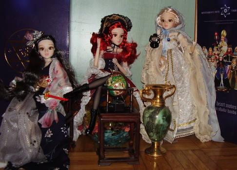Tarot dolls