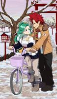BnHA FC Gift: First Ride [EijiYomi]