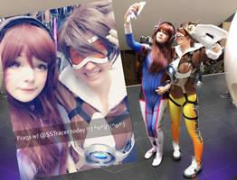Selfie with D.VA by sakuraaflor