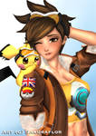 Pokemon master Tracer with Pichu