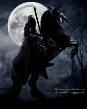 Death Rides A Black Horse