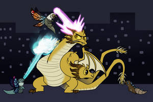 Playing with Ghidorah
