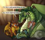 (AU) Chameleon as a dad