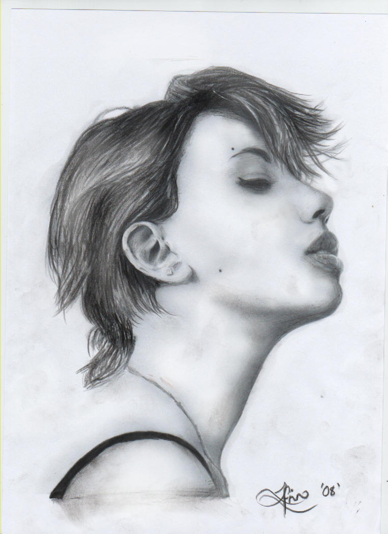 Pencil Drawing by IkilledMyElegance