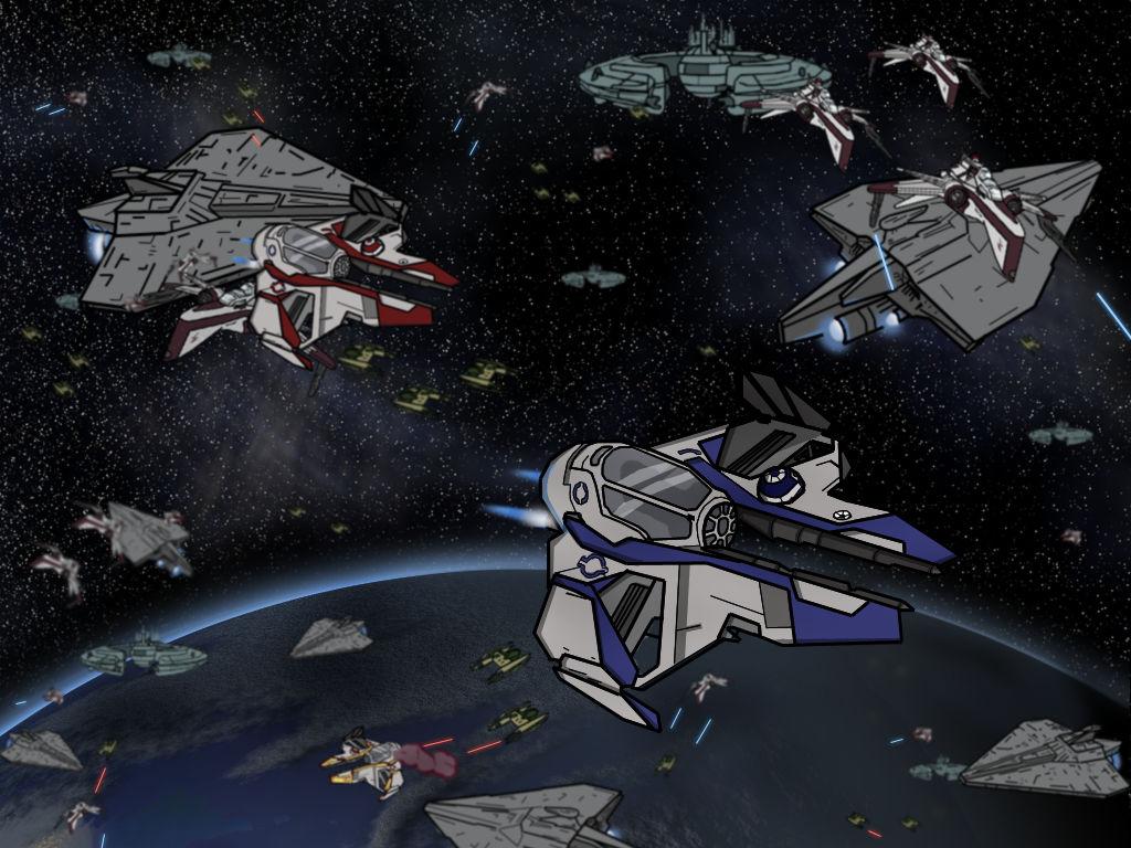 Clone Wars Wallpaper By Solutionnyne On Deviantart