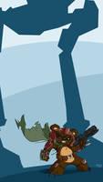 Ewok Bounty Hunter
