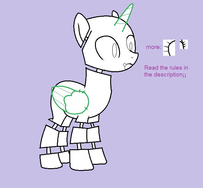 Pony Animatronic Base 01 By X1kisho On Deviantart
