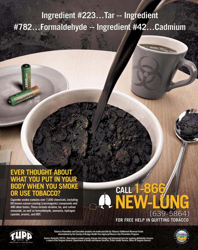New Anti Smoking Ad
