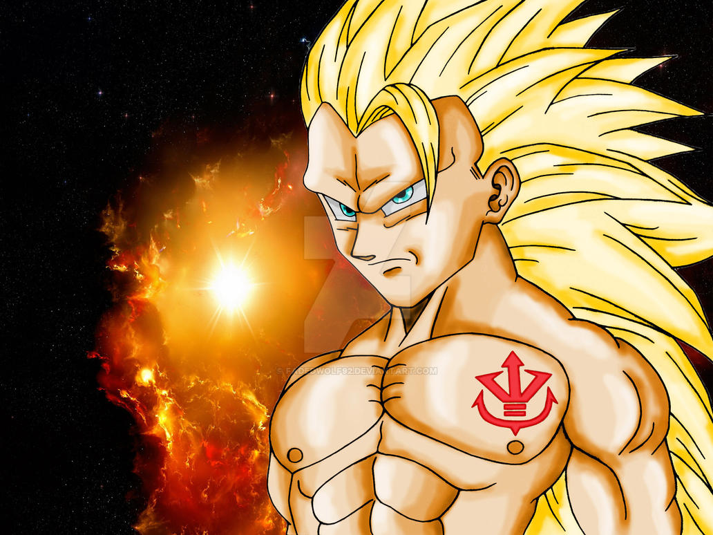 Super Saiyan 3 By Fadedwolf92 On DeviantArt