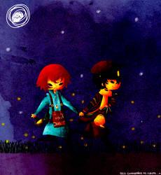 Fireflies by iFortune