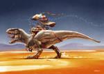 Norbisaurus by TamasGaspar