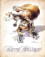 Neander Claus by TamasGaspar