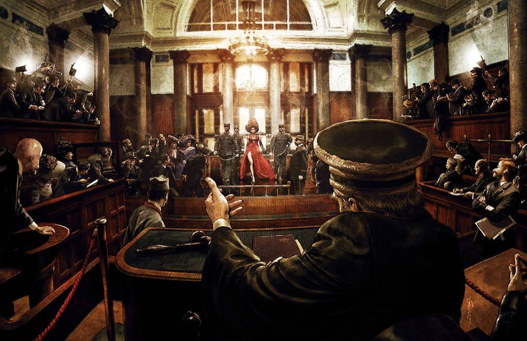 Mata Hari - Courtroom by TamasGaspar