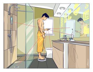 Intelligent bathroom by TamasGaspar