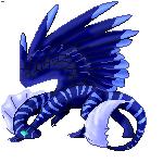 Night Dragon adult by PixelDragonMaker