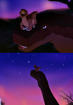 ''Yes, Littlefoot. It's very beautiful.''