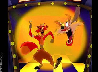 ''Foxy Foxy'' by Kosperry
