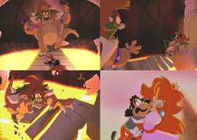 ''Thank you, Mario! Your quest is over.''