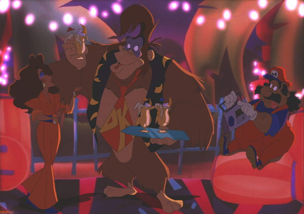 Nice of DK to invite us ova fora party eh Pauline?