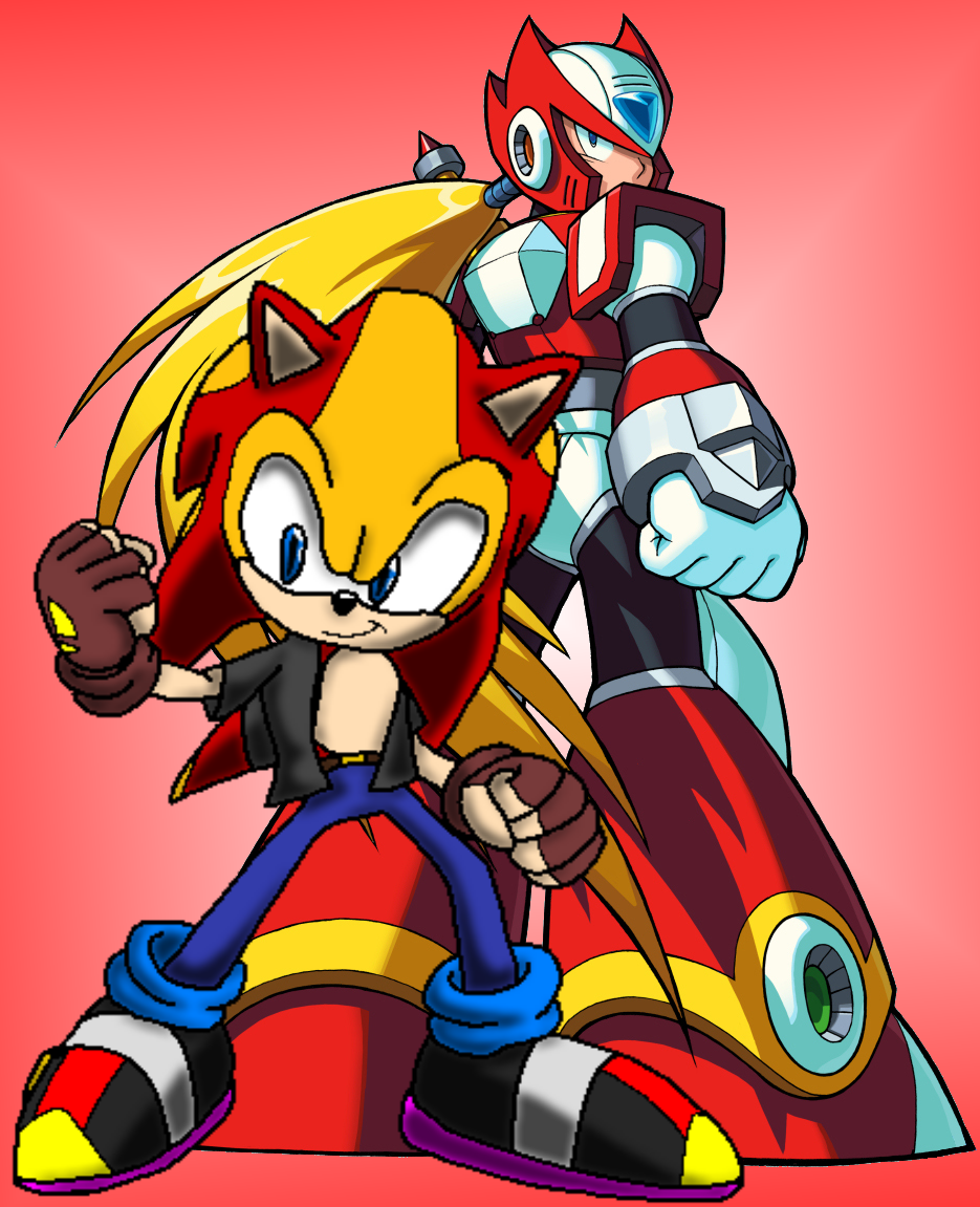 WhiteBladeZero and Zero by CryoflareDraco