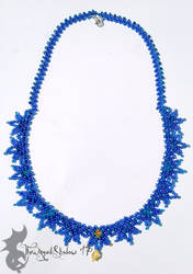 Blue Star Lace