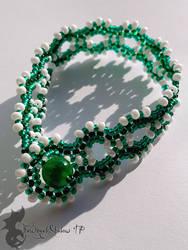Green Waves Bracelet