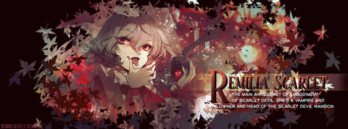 Remilia Scarlet Cover