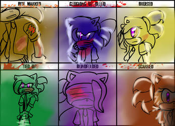 Character Abuse Meme- Zero by xItsElectric