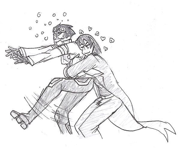 Pedo Hug by TheFrenchGal