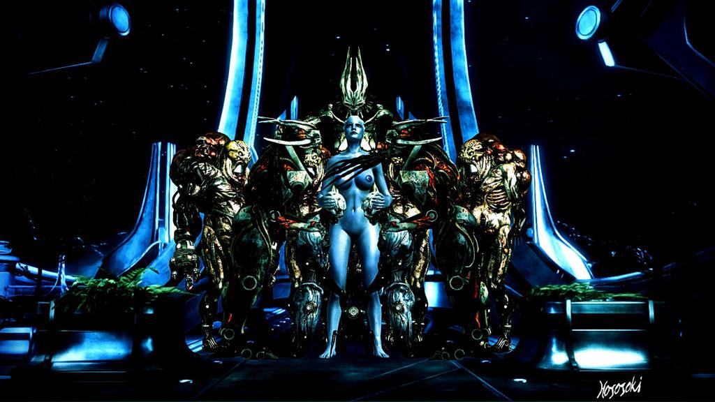 Queen Liara, Reaper Enchantress by hososoki
