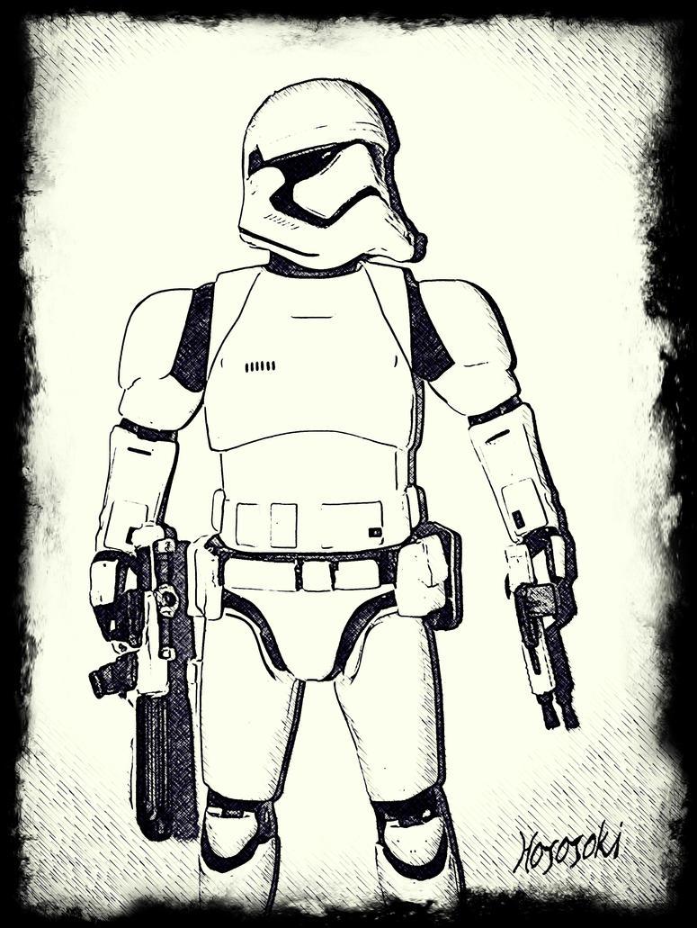 Stormtrooper by hososoki