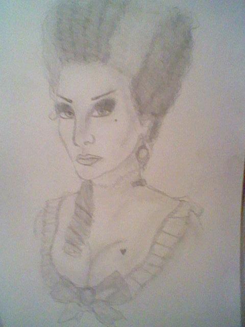 Mrs. Merrywood (VF inspired) by KanonLovezCello