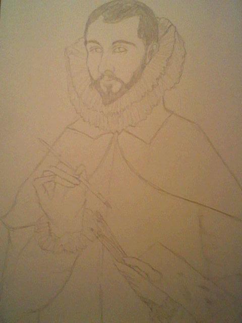 Domenicus Theotokopoulos (El Greco) WIP by KanonLovezCello