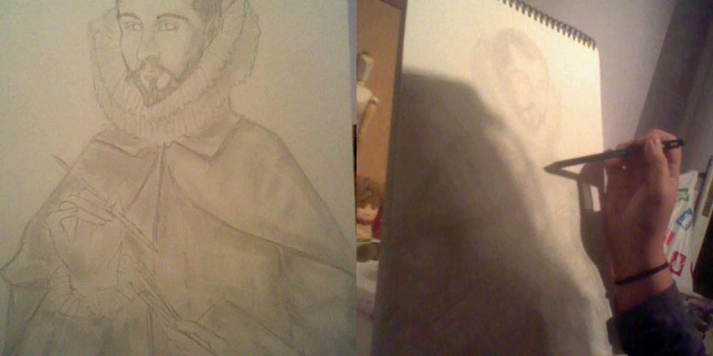 Domenicus Theotokopoulos (El Greco) WIP (Progress) by KanonLovezCello