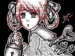 Random Doll/Girl. (DSi drawing) by KanonLovezCello