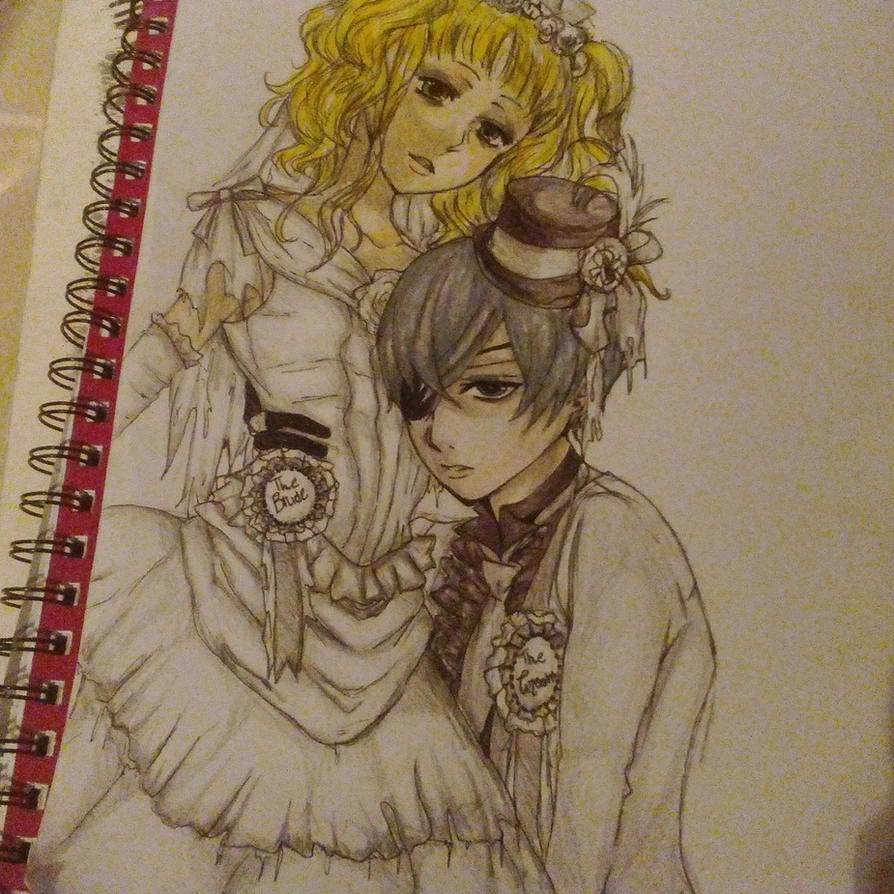 Corpse Bride And Groom (WIP) by KanonLovezCello