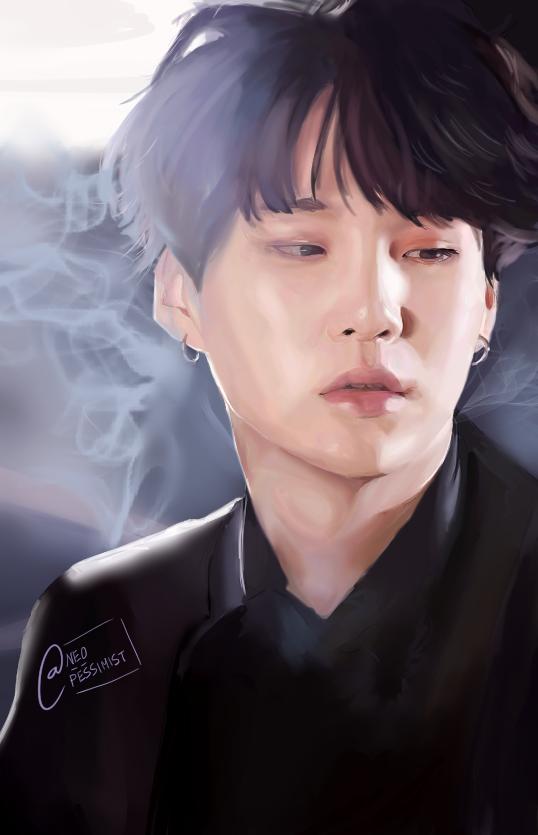 Another prince. (Min Yoongi/BTS' SUGA) by KanonLovezCello