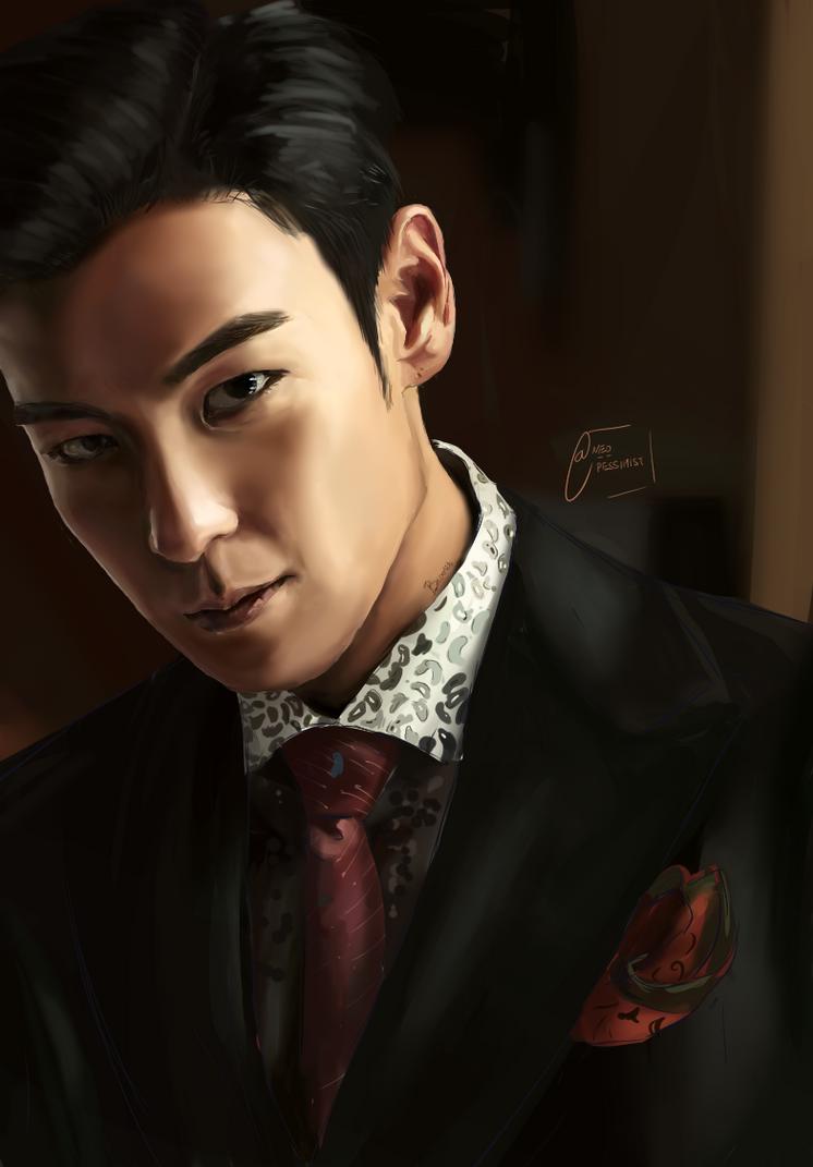 Choi Seung-Hyun (BIGBANG's T.O.P) by KanonLovezCello