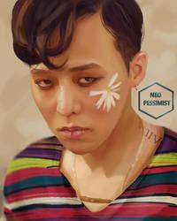 Flower Dragon (Kwon Jiyong-BIGBANG's GDRAGON) by KanonLovezCello