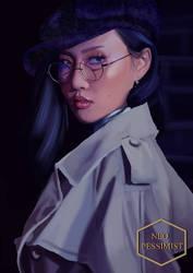 Detective Ahn, at your service (MAMAMOO's Hwasa) by KanonLovezCello
