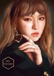 A fairy. (Red Velvet's Wendy)