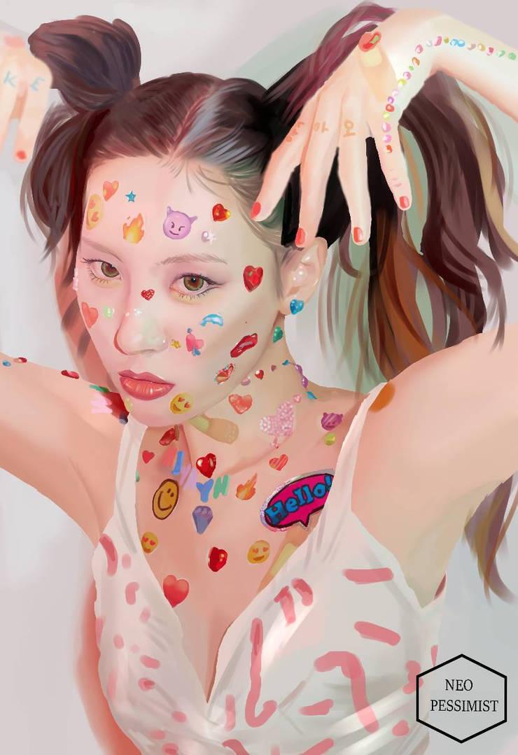 Sunmi- Noir by KanonLovezCello