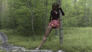 Peggy and the Forest Path 1