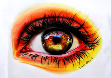 How to Draw Eyes by ZehraAkbulut