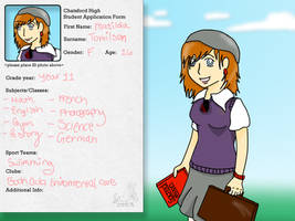 Chatsford High: Matilda Tomilson by aniaXDpolska